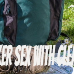 Backpacker sex with cleaning lady
